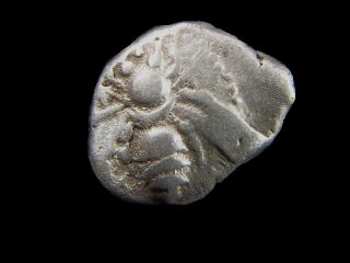 Silver Drachm From Ephesus Ionia,  500 - 450 Bc Bee,  Greek Golden Age Cc6843 photo