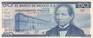 Mexico 50 Pesos 27.  1.  1981 (pick 73) Unc photo