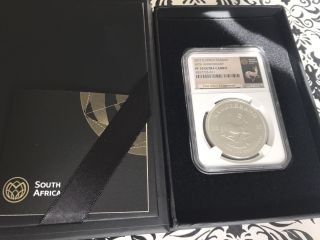 2017 Krugerrand Silver Proof Ngc Pf70 50th Anniversary Ultra Cameo White Core photo