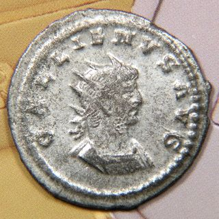 Rome,  Gallienus,  Ad 253 - 268,  Silvered Double - Denarius,  Genivs Avg,  Of Asia. photo