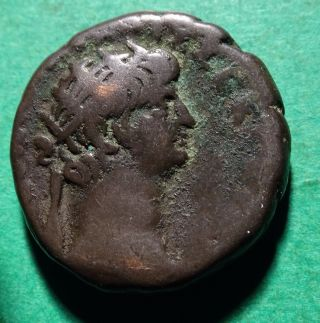 Tater Roman Provincial Ar23 Tetradrachm Of Nero With Poppaea Alexandria photo