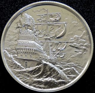 Elemetal 2 Oz Privateer Ultra High Relief Silver Round - 1st In Series photo