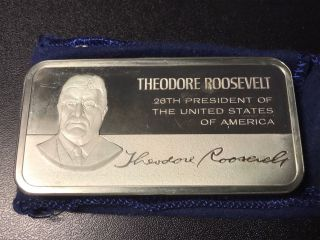 1974 Franklin Theodore Roosevelt - Silver Art Bar photo