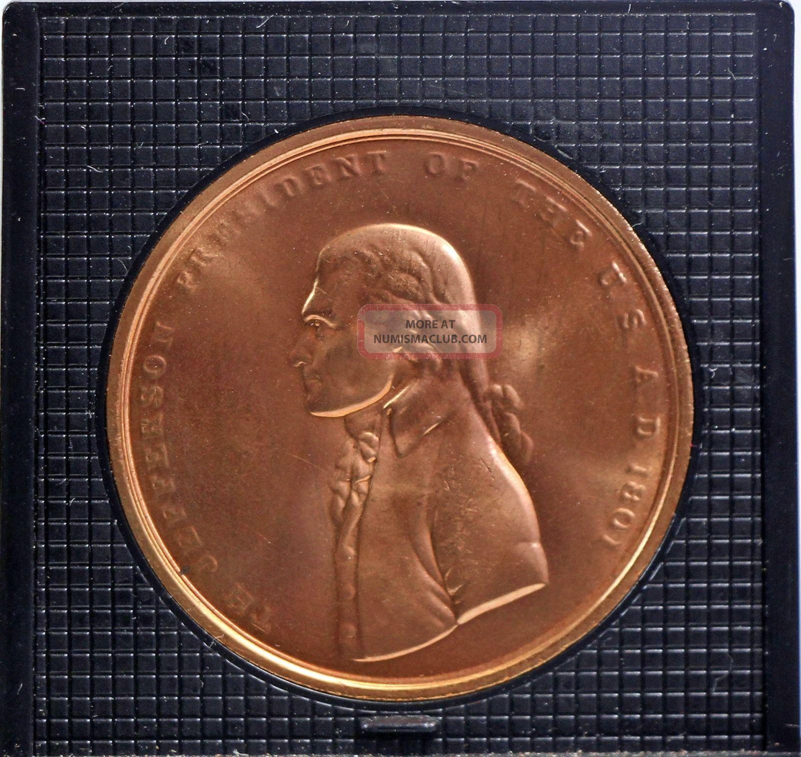 Thomas Jefferson Inagural Bronze Medallion - Peace Medal? Exonumia photo