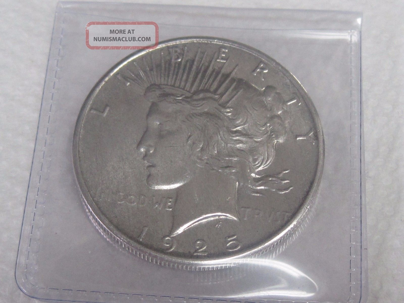 1925 Peace Silver Dollar Dollars photo