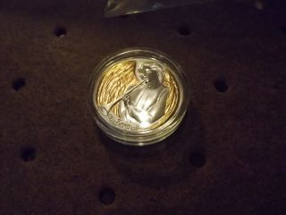 Niue 2015 $2 Heavenly Joy Angel Proof Like 40g 1,  28 Oz Silver Coin 1 Of 2000 photo