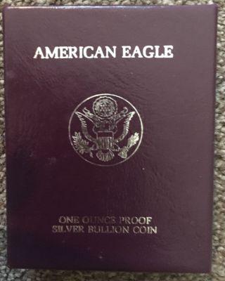 1988 1 Oz Silver American Eagle (brilliant Uncirculated) photo