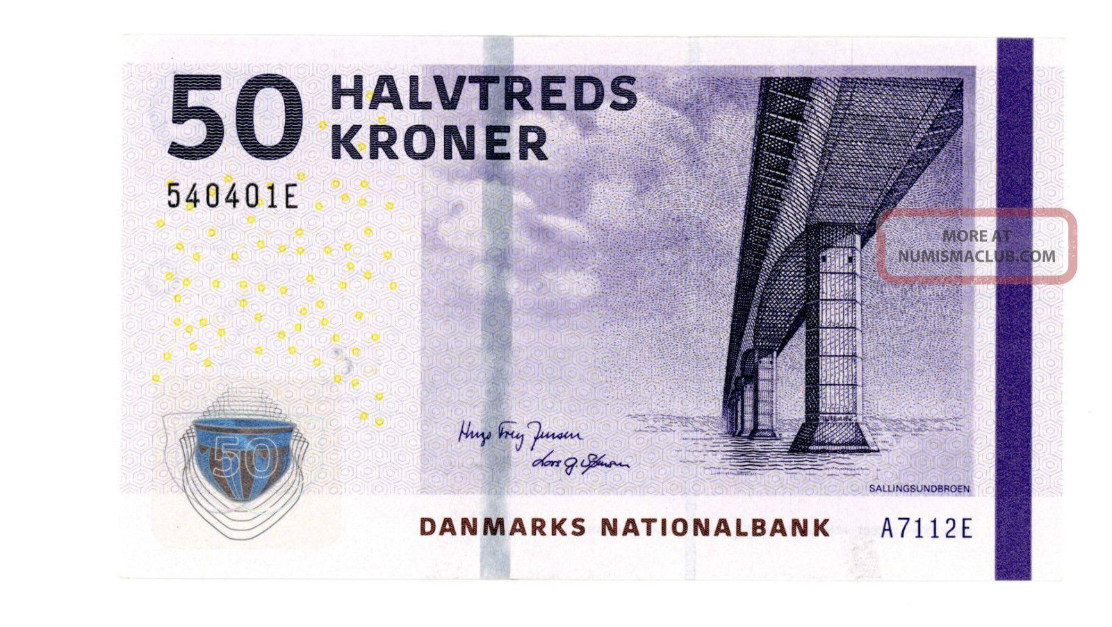 Denmark … P - 65d … 50 Kroner … 2011 … Unc Europe photo