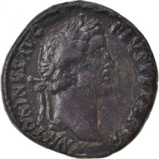 [ 61551] Antoninus Pius,  Sestertius,  Roma,  Ef (40 - 45),  Copper,  Cohen 41,  25.  70 photo