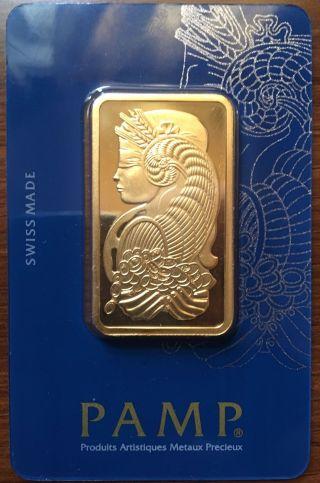 1 Oz Gold Bar 24k photo