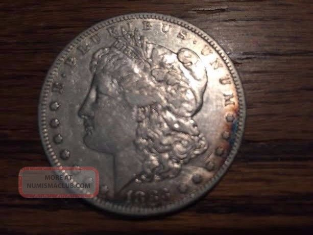 1883 - S Morgan Silver Dollar Dollars photo