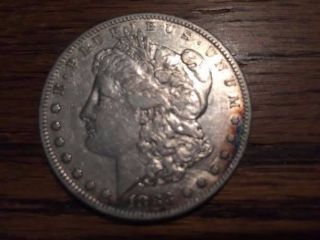 1883 - S Morgan Silver Dollar photo