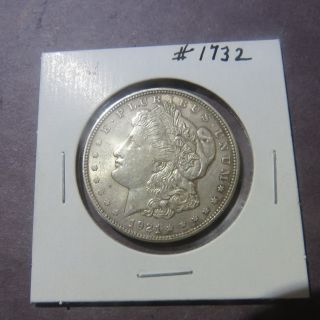 1921 $1 Morgan Silver Dollar 1732 photo