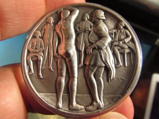 Surgical Anatomy: 51gr.  999 Silver High Relief Medallic Art Co.  700 Only: Scarce photo