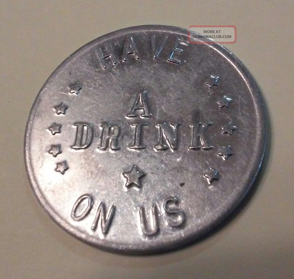 Colorado,  Crawford - Silver Dollar Saloon & Diner Token Good For 32mm Aluminum Exonumia photo