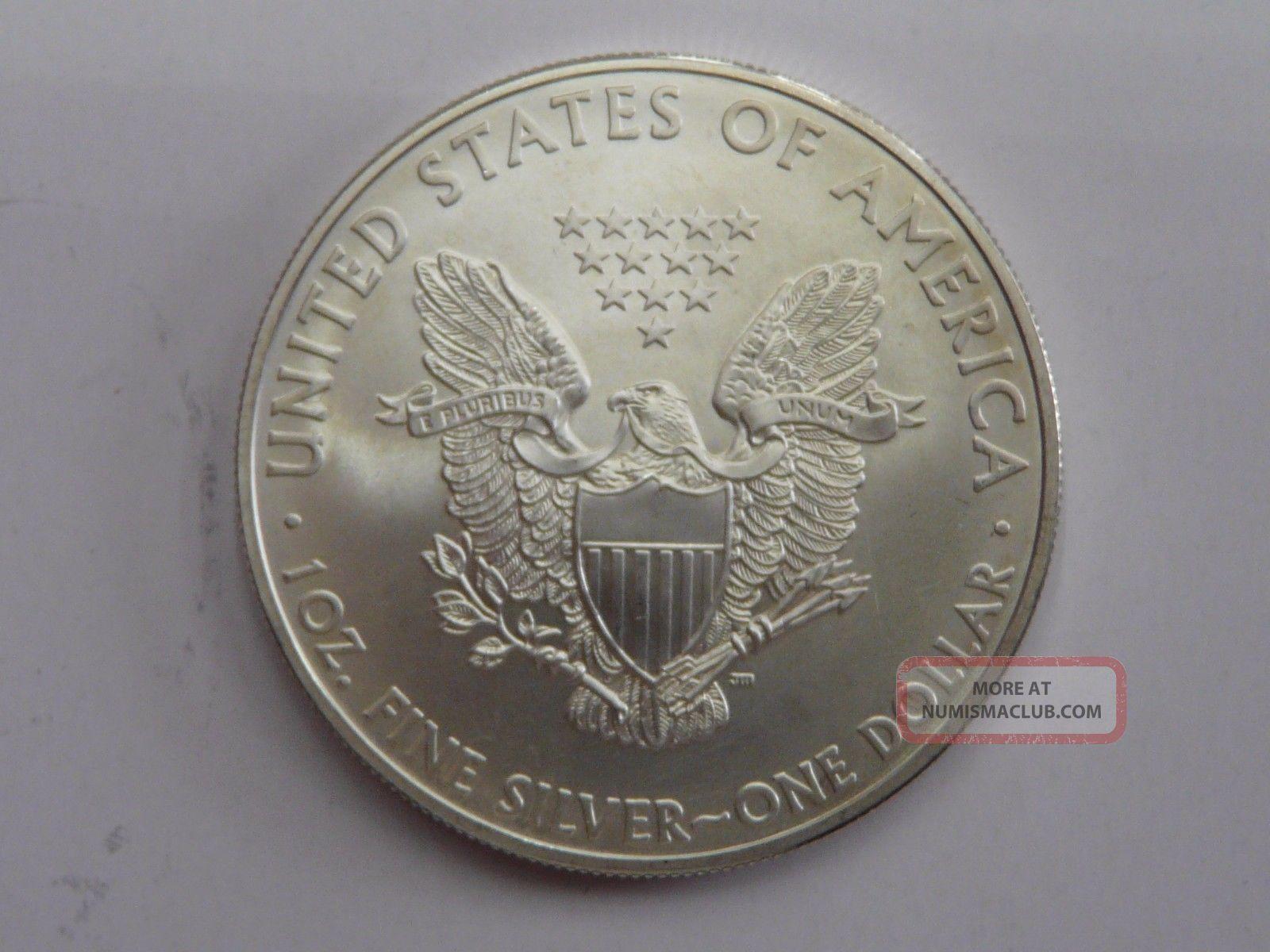 2008 American Eagle Walking Liberty 1 Oz Fine Silver