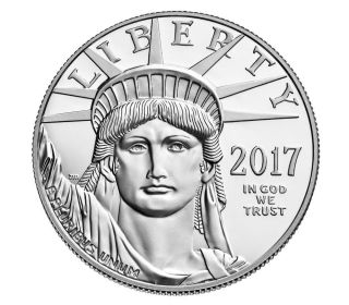 2017 American Eagle Platinum Proof Coin W Item 17ej Box photo