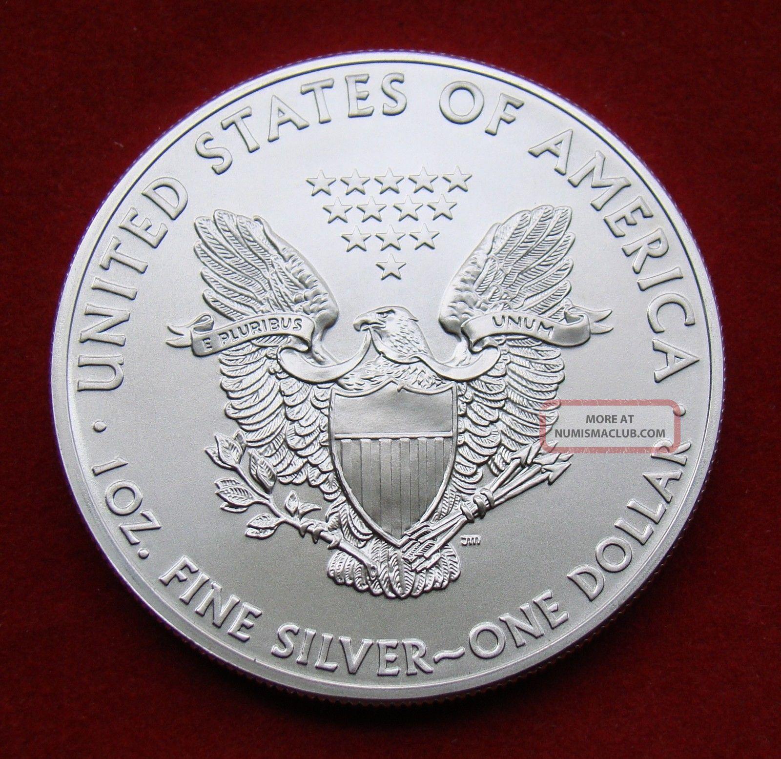 2015 Silver Dollar Coin 1 Troy Oz American Eagle Walking