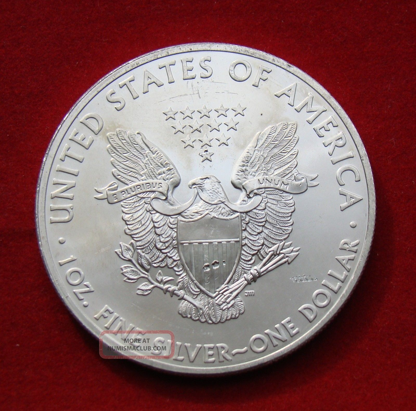 2013 Silver Dollar Coin 1 Troy Oz American Eagle Walking