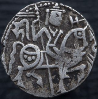India Kabul Shahis Samanta Deva 850 - 1000 Ad Ar Jital Kabul Tye 21 Ef photo