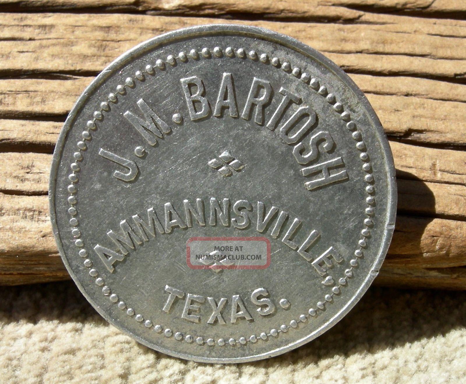 Ca 1910 Ammannsville Texas Tx (tiny Fayette Co)