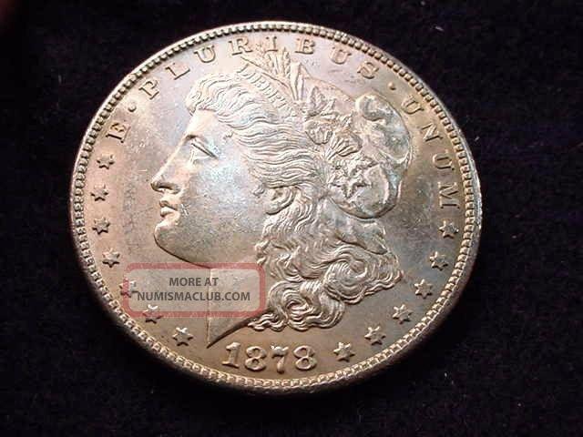 1878 - S Morgan Dollar Bu Coin - - - 260 Dollars photo