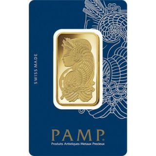 1 Oz Gold Bar Pamp Suisse Lady Fortuna Veriscan (in Assay) - Ebay photo