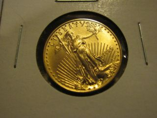 1999 $10 Gold American Eagle Coin 1/4 Oz Quarter Ounce photo