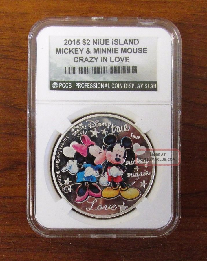 Niue 2015 2 Disney Crazy In Love Mickey Amp Minnie Mouse