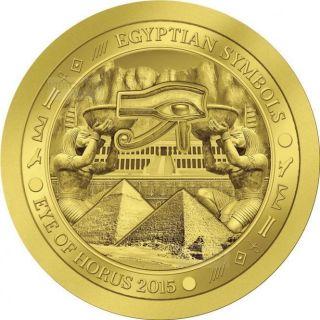 2015 - Palau - 1/2 Gram.  9999 Gold Coin