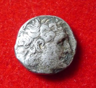 Ptolemy Vi Ar Tetradrachm Ptolemy I Head / Eagle Dated 161/162.  Bc photo