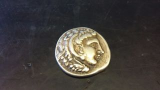 Greece - Kingdom Macedon - Alexander The Great - Silver Drachm Coin - Very Rare photo