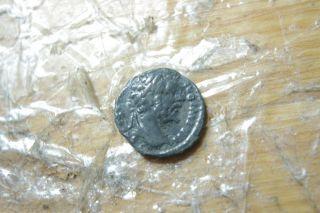 Septimus Severus Denar Authentic Ancient Roman Coin photo