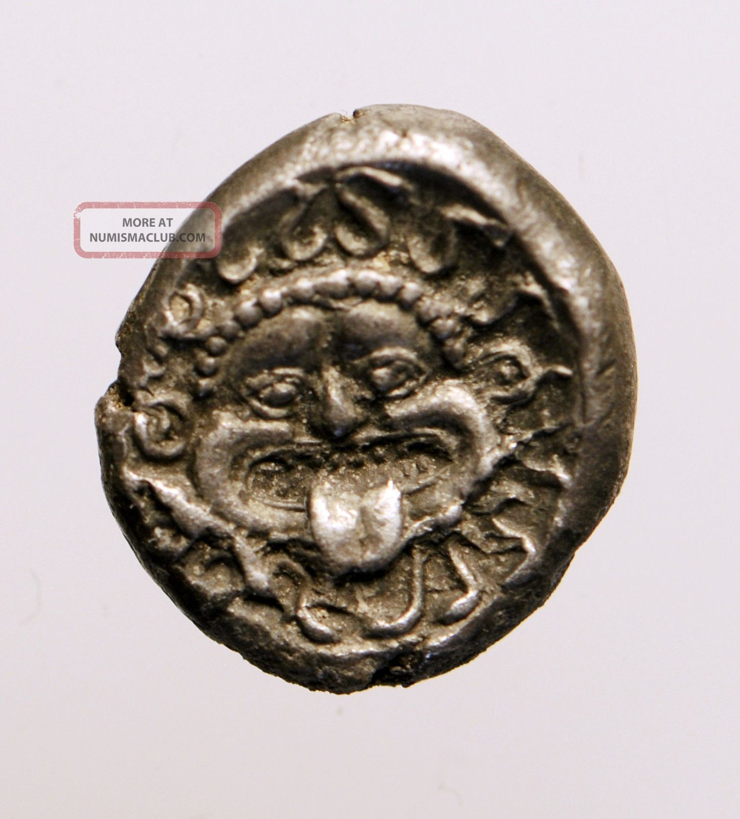 A24: Thrace,  Apollonia Pontika.  Late 5th - 4th Centuries Bc.  Ar Drachm Coins: Ancient photo