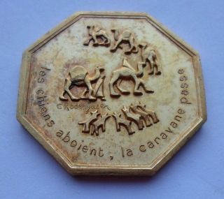 Paris Year Wish Token / Medal / Let The World Say What It Will photo
