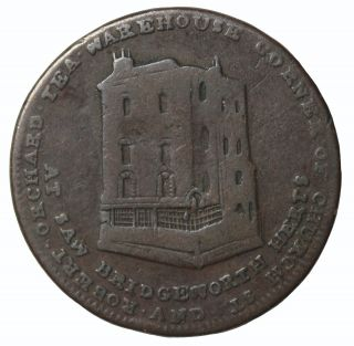 1804 Great Britain Middlesex Robert Orchard Tea Farthing Conder Token Dh - 1063 photo