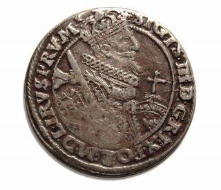 Poland - Sigismund Iii Vasa Ort - 1/4 Thaler 1622 Ad - photo
