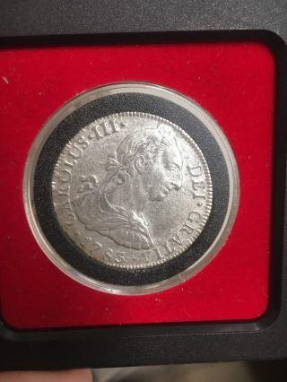 Mexico 8 Reales,  1783 photo