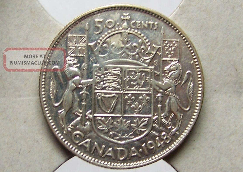 Canada - 50 Cents,  1948 - Grade Coins: Canada photo