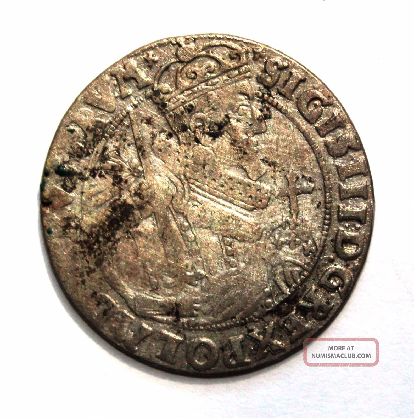 Poland - Sigismund Iii Vasa Ort - 1/4 Thaler 1624 Ad - Europe photo