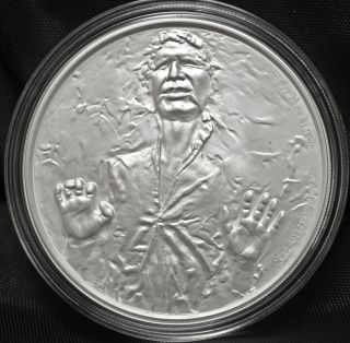 2016 Niue - Star Wars Classic - Han Solo - 1 Oz.  999 Silver photo