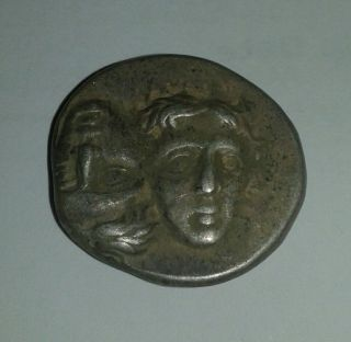 Drachm Moesia Istros (4th Century Bc) 5,  39gr. photo