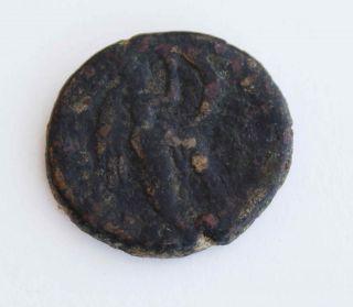 Judaea,  Herodian Kings.  Agrippa Ii,  With Domitian.  50 - 95 Ce. photo