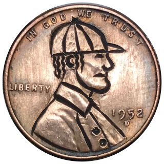 Hobo Nickel Coin Art Vintage Baseball Player 24 photo