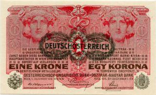 Austria 1 Krone 1916 No465388 photo