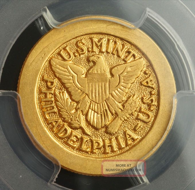 1947,  Saudi Arabia.  Scarce Fine Gold Saud Pound (sovereign) Coin.  Pcgs Ms - 63 Coins: World photo