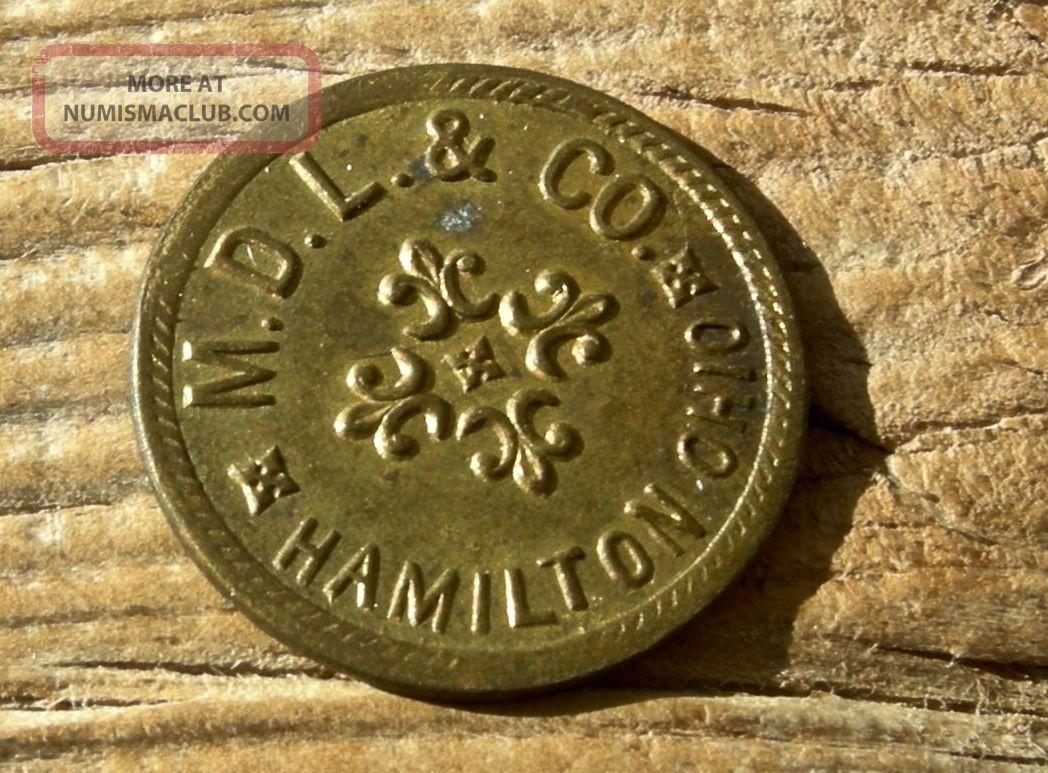 1900 Hamilton Ohio Oh (butler Co)