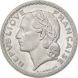 [ 75317] France,  Lavrillier,  5 Francs,  1946,  Beaumont - Le Roger,  Km 888b.  2 photo