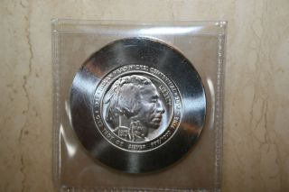 Daniel Carr 2013 Buffalo Nickel Centennial One Ounce 999 Silver photo