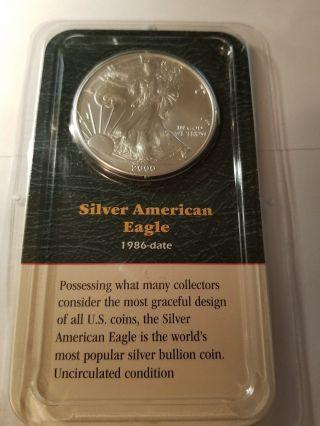 2000 American Silver Eagle $1